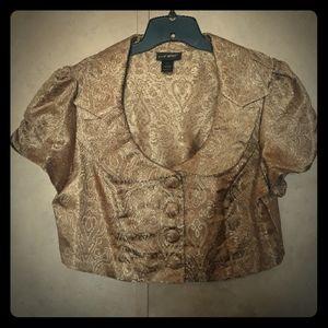 Gold Vintage vest